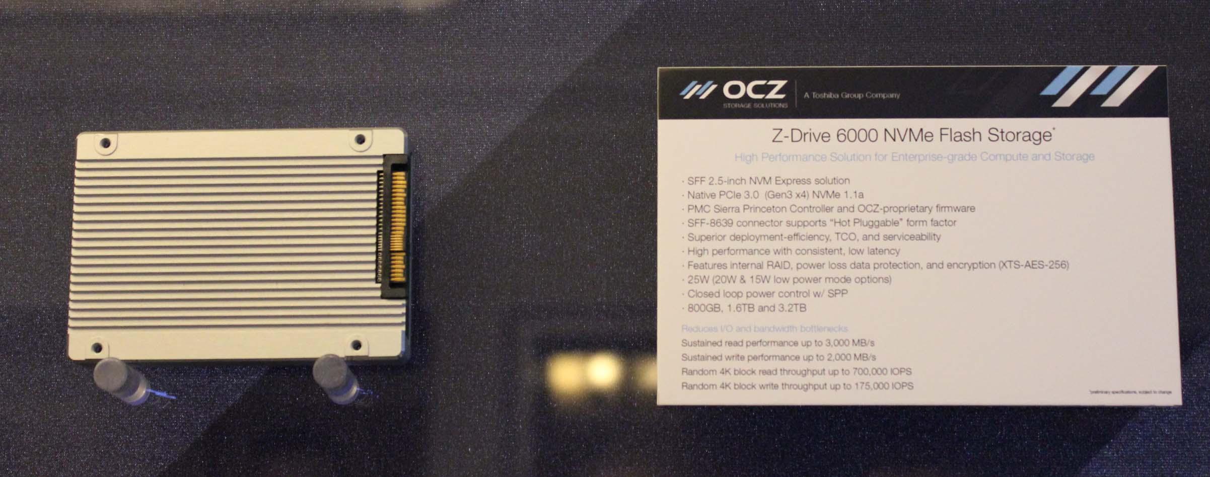 OCZ Suite Tour: Vector 180, JetExpress PCIe NVMe Controller