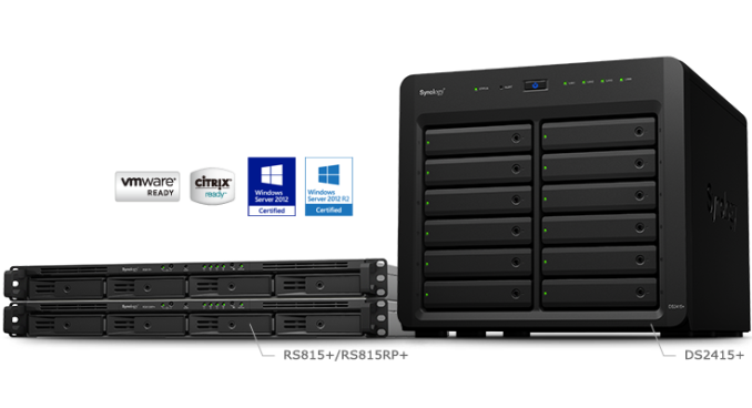 synology introduces rs815 and ds2415 rangeley nas units