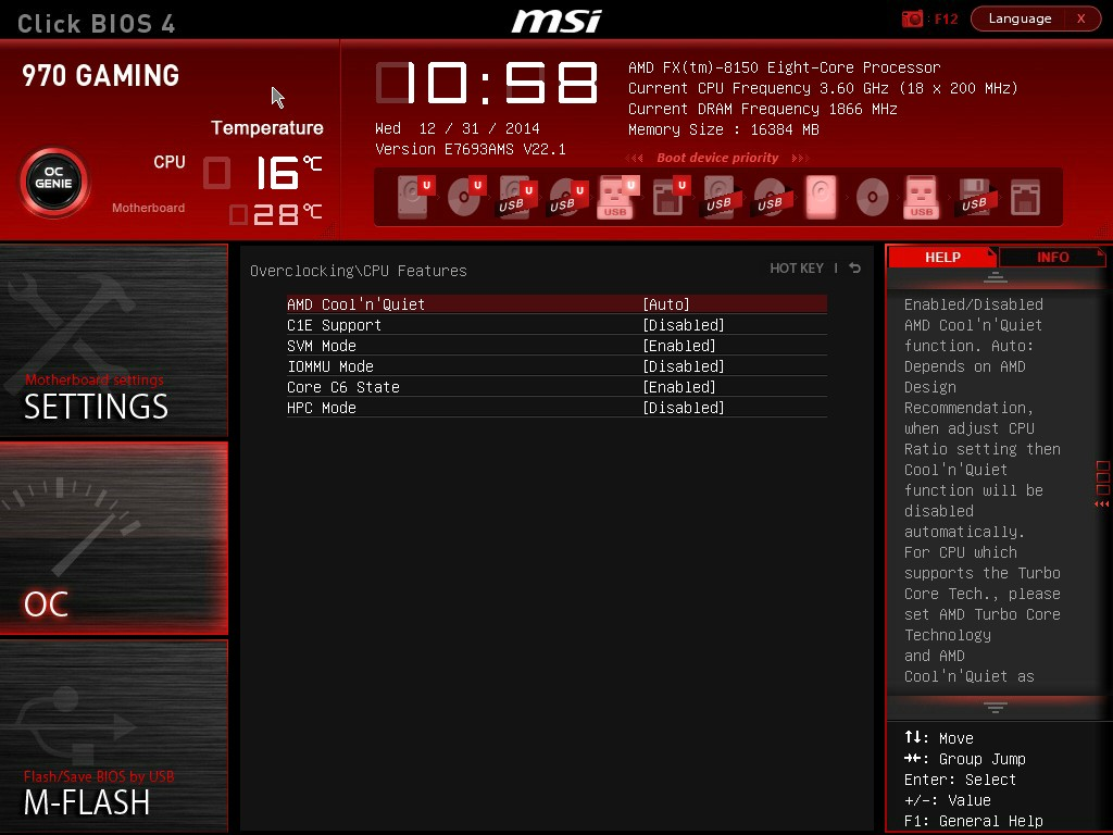 BIOS and Software - MSI 970 Gaming Motherboard Review: Undercutting
