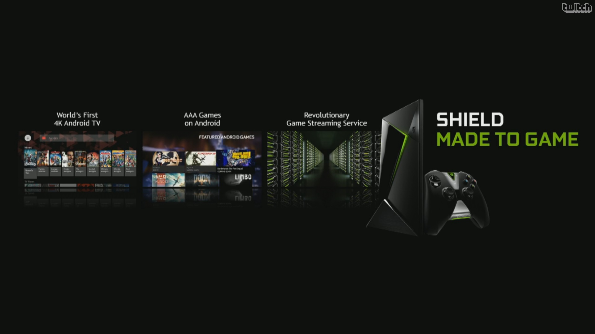 NVIDIA Announces SHIELD Console: Tegra X1 Android TV Box