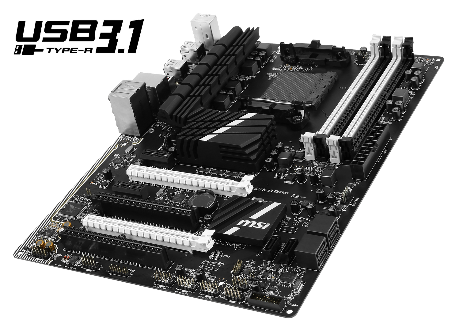msi releases 970a sli krait edition motherboard with usb 3 1