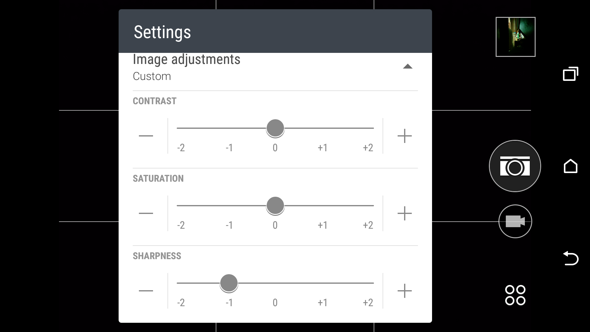 Camera Architecture And Ux The Htc One M9 Review Part 2 Pro Comp Pc 8000 Wiring Diagram Also Includes A Full Manual Mode Which Allows Adjustment Of Exposure Compensation Exact White Balance Temperature Iso Settings