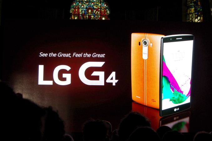 LG Announces the G4: 5 5-inch QHD with Snapdragon 808