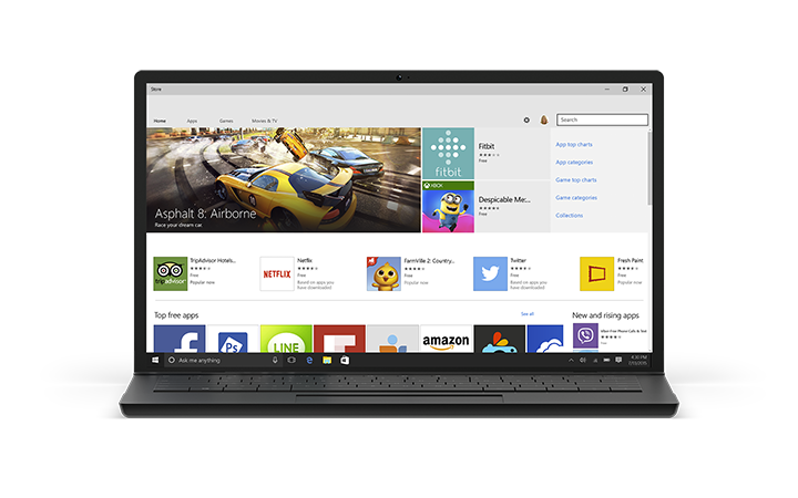 Windows 10 build 10074 now available the example today was if you like to play star wars commander it might suggest the recently launched star wars rebels game this can be turned off if you ccuart Choice Image