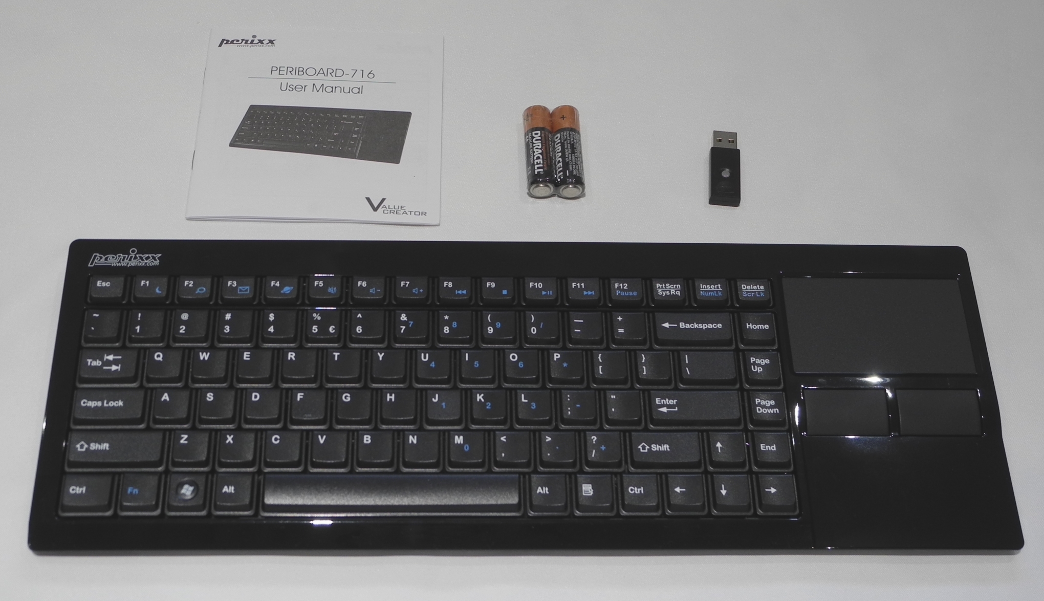 Perixx PERIBOARD-716 and 706 PLUS - Interacting with HTPCs: Logitech