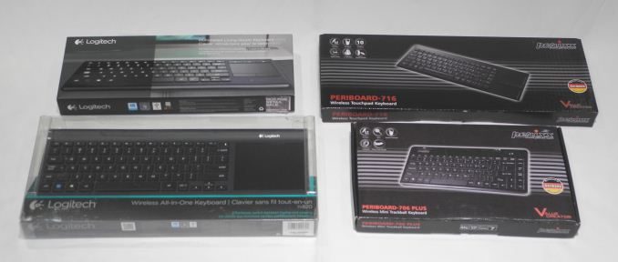 Logitech K830 and TK820 - Interacting with HTPCs: Logitech and
