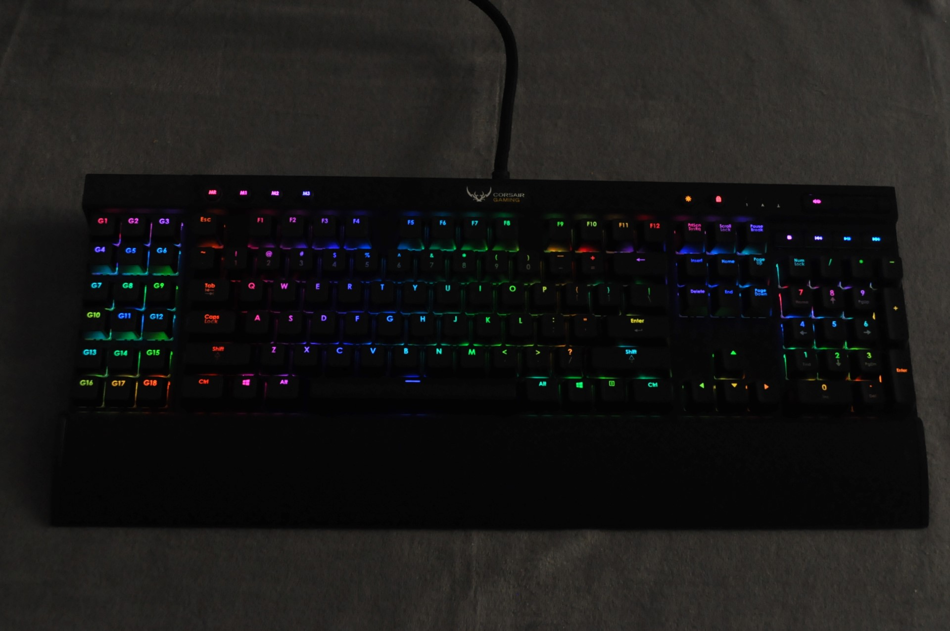 Corsair Gaming K65 Rgb K95 Mechanical Keyboards The Keyboard K70 Red Switch Used And Mice Range An Experiential Test