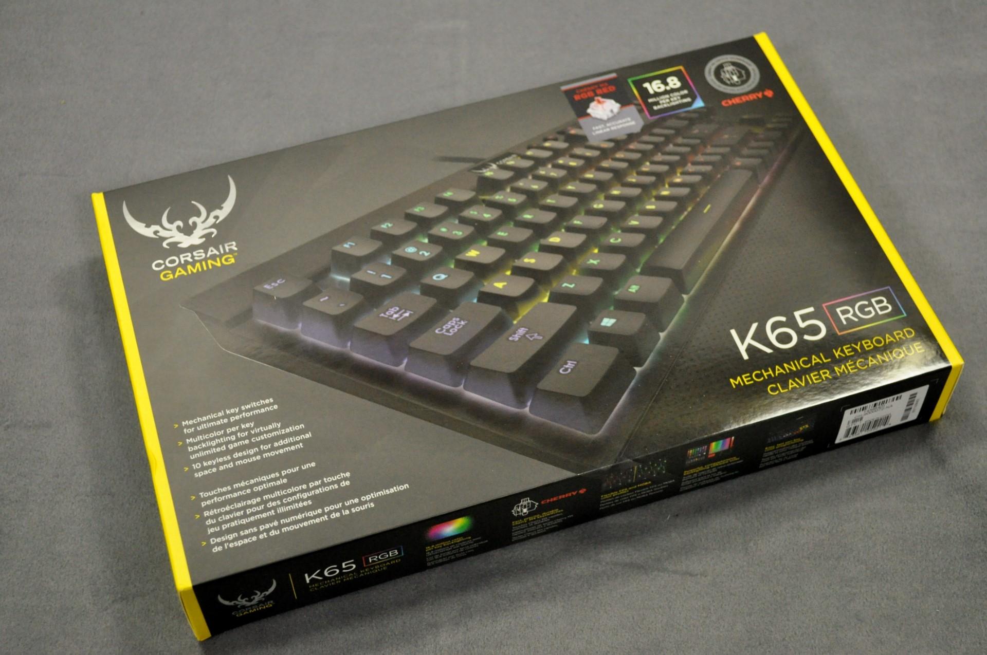 Corsair Gaming K65 RGB & K95 RGB Mechanical Gaming Keyboards - The