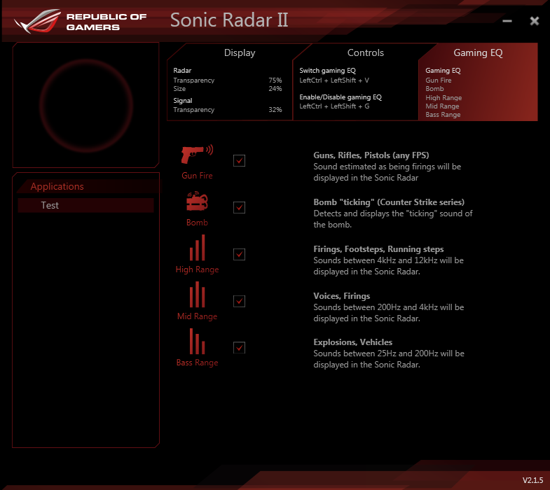 how to get sonic radar