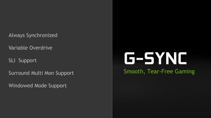 NVIDIA Launches Mobile G-Sync, Enables Windowed G-Sync, & More
