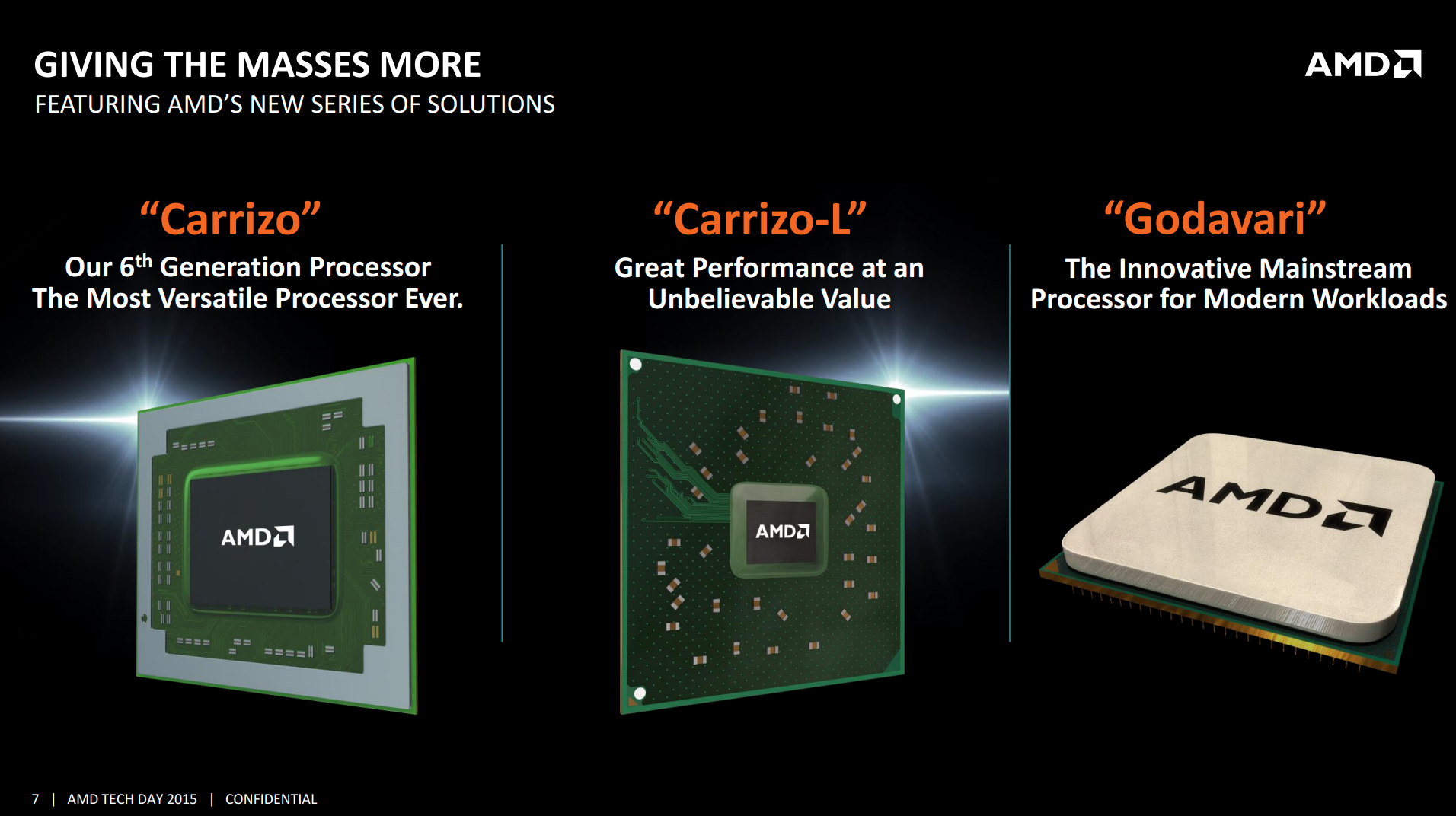 AMD Launches Carrizo: The Laptop Leap of Efficiency and