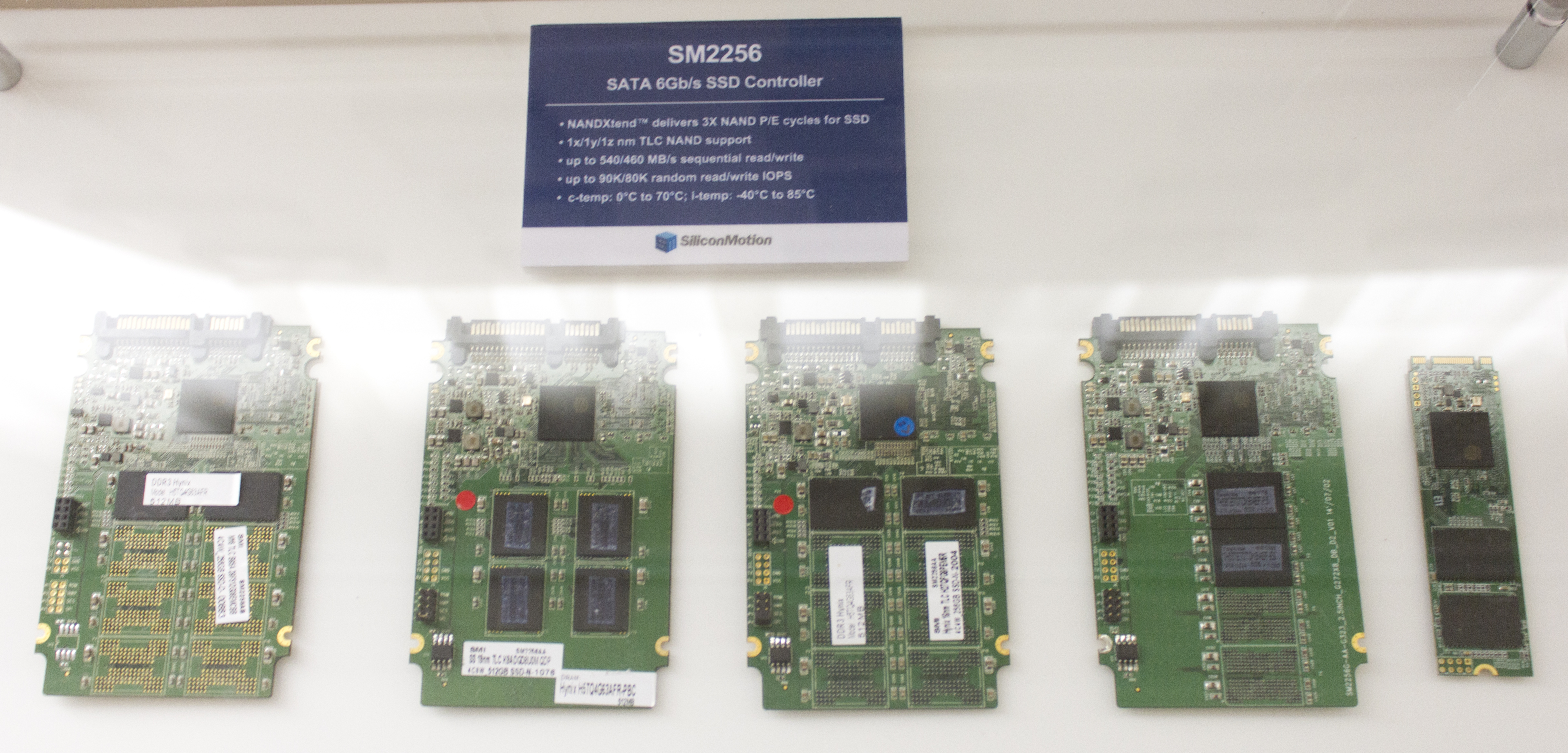 Silicon Motion Displays Upcoming SM2260 PCIe 3 0 x4 NVMe