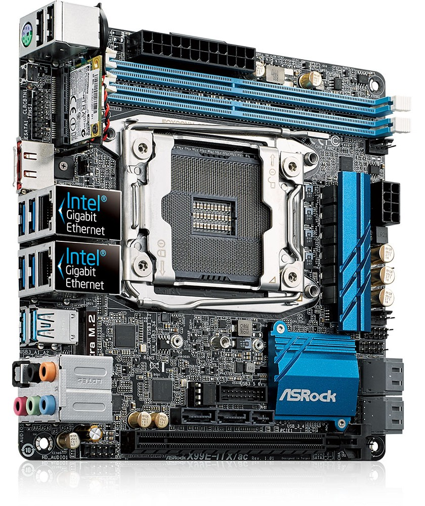 ASRock X99E-ITX/ac Drivers