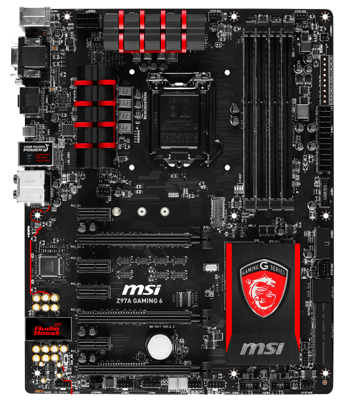 Z97 GAMING 3  Motherboard  MSI Notebook