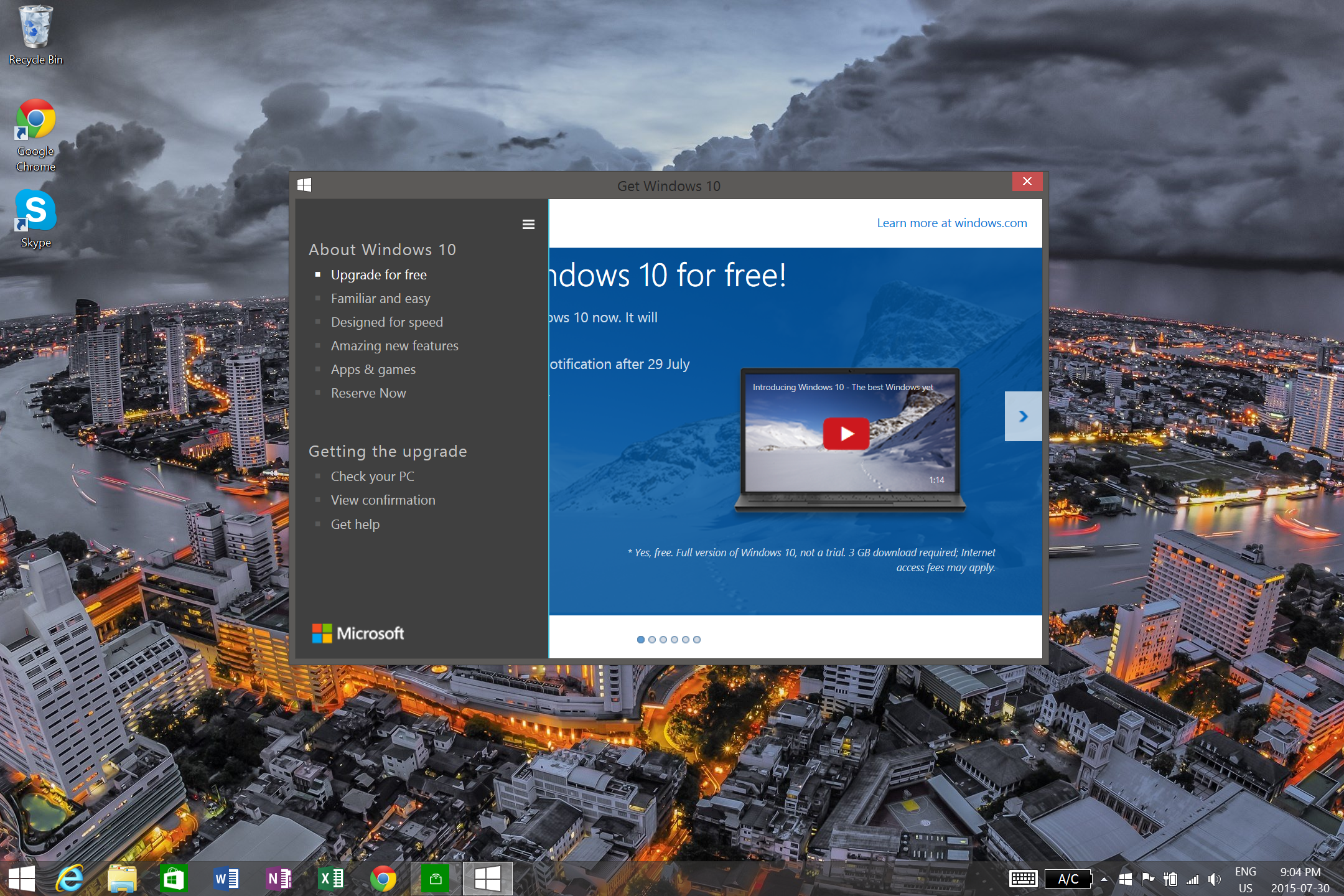 Here's How You Can Install Windows 10 Now