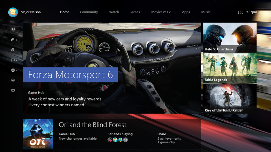 Xbox One Will Be Upgraded To Windows 10 In November