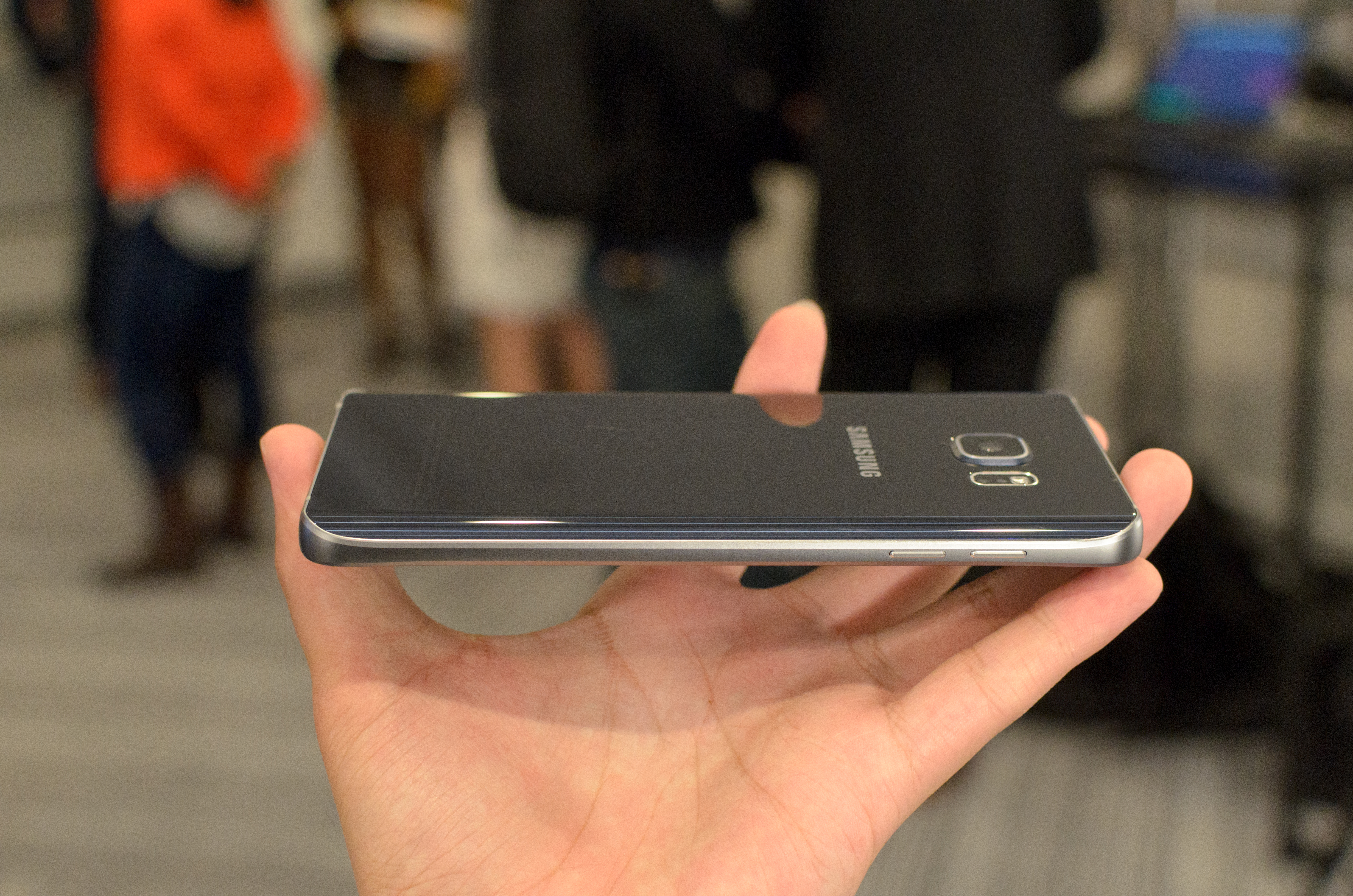Hands On With the Samsung Galaxy Note 5 and Samsung Galaxy S6 edge+