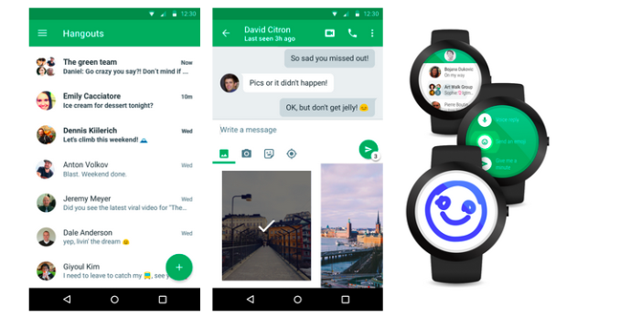 Google Redesigns Hangouts for Android With Version 4 0