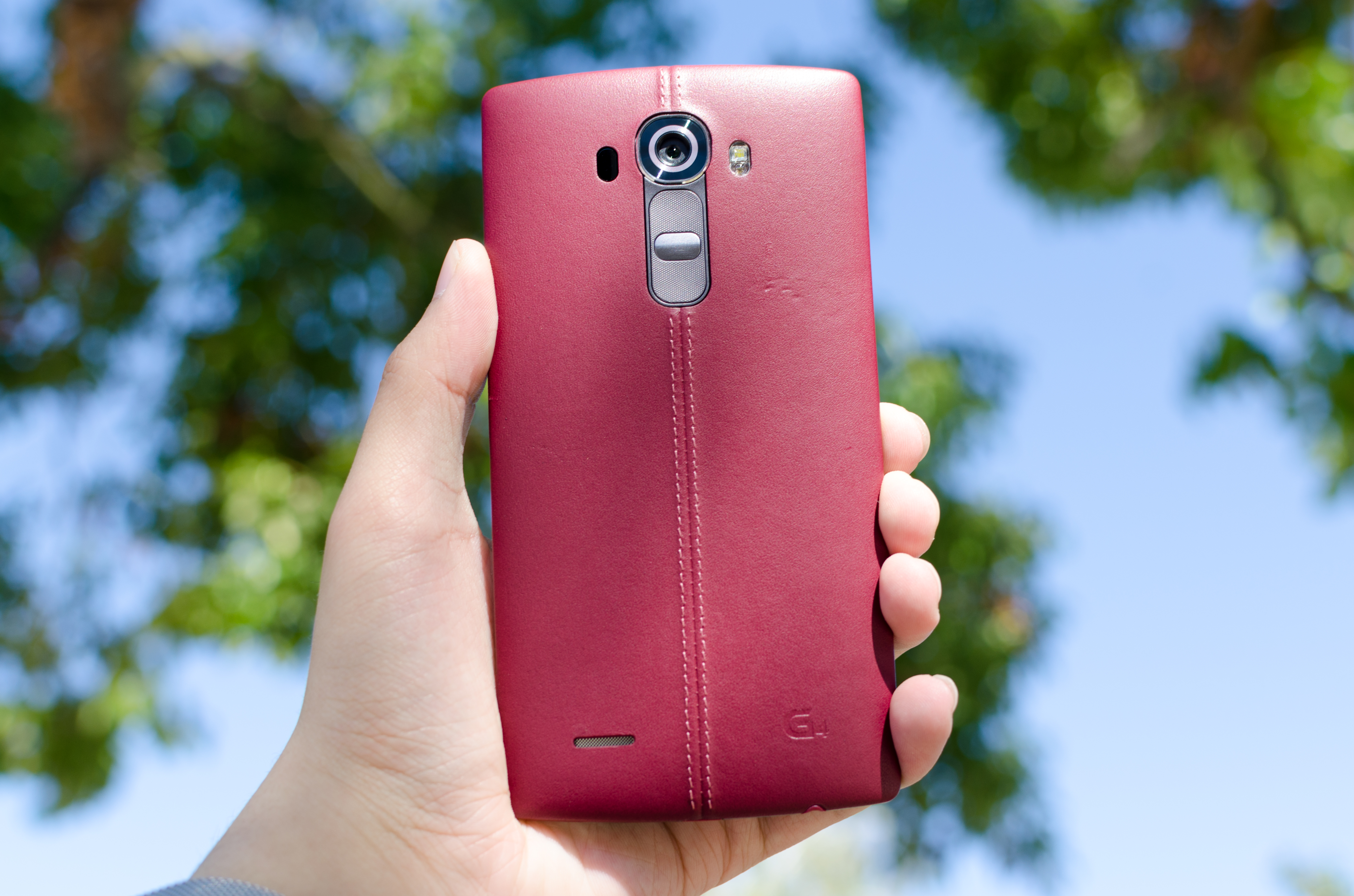 factory authentic 8769c 953a4 A Quick Look at LG G4 Leather Back Covers