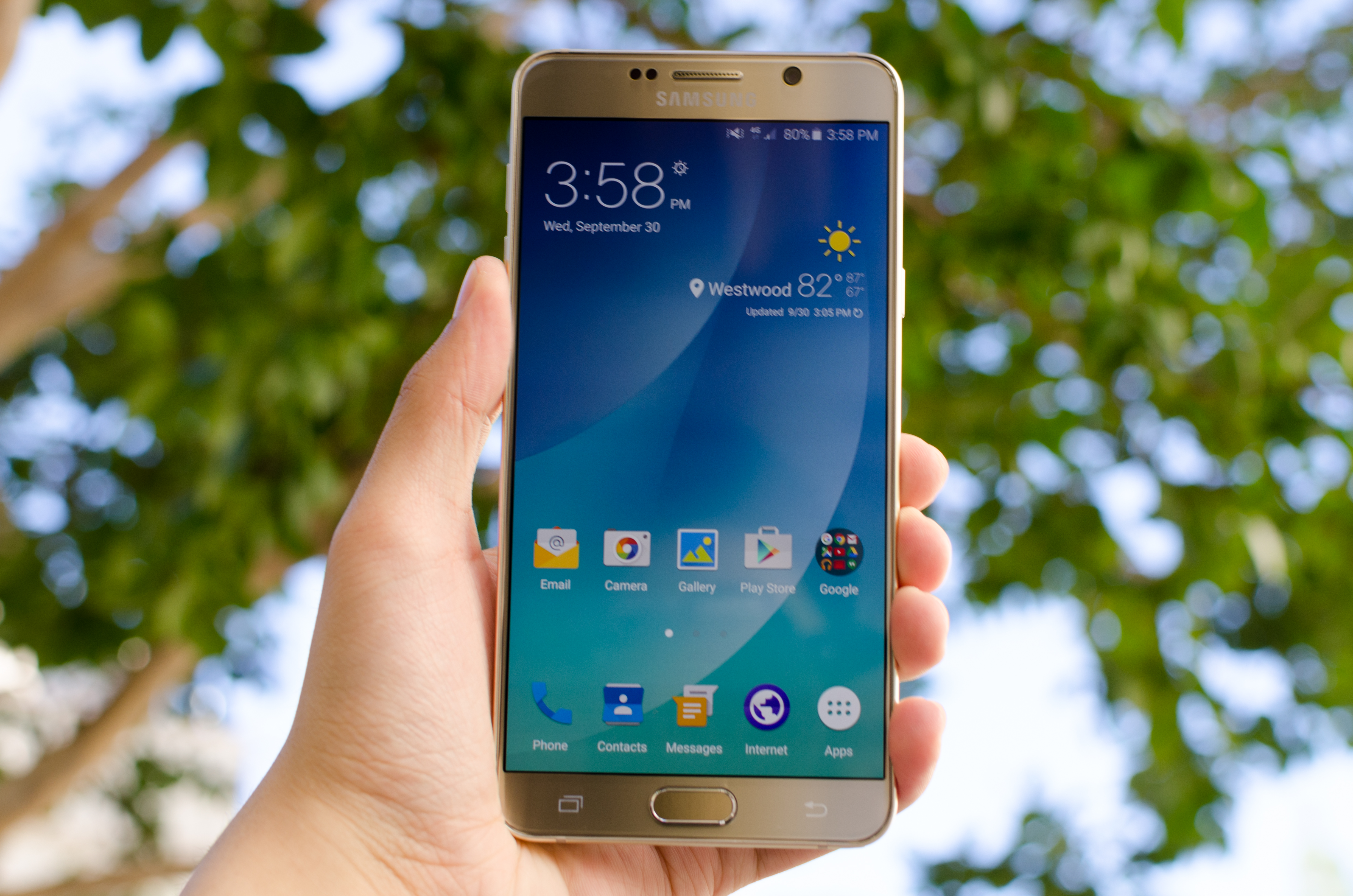 samsung phones 2016. the samsung galaxy note5 and s6 edge+ review phones 2016