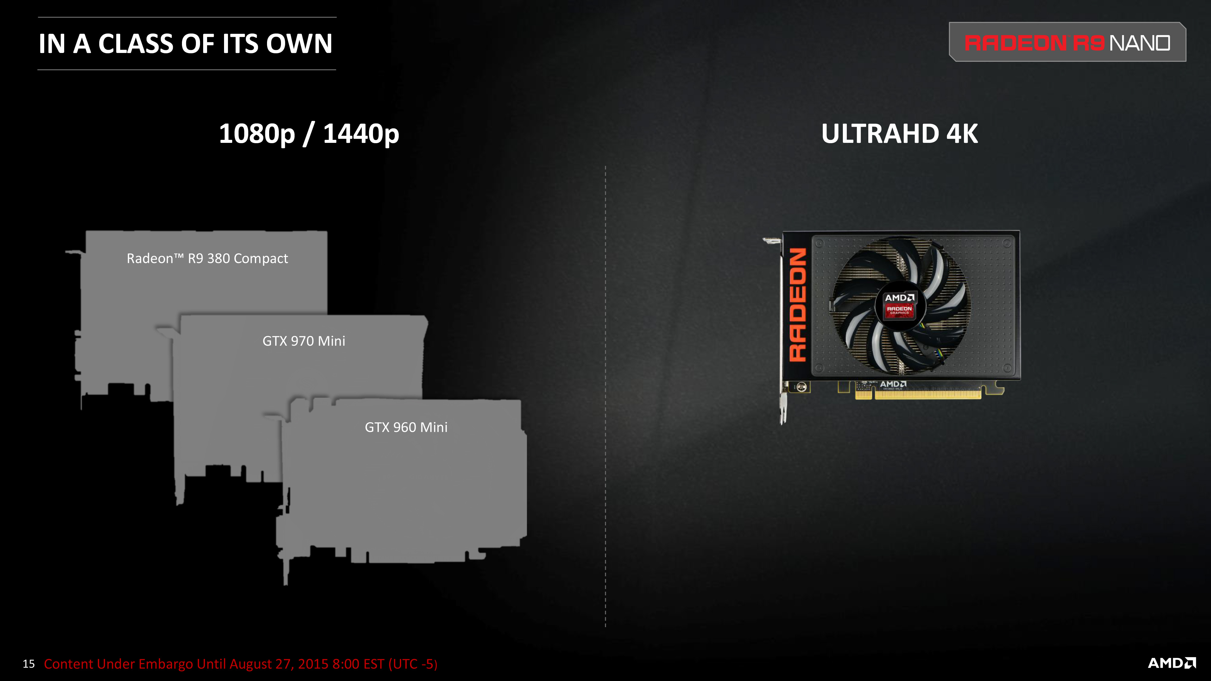 AMD Announces Radeon R9 Nano