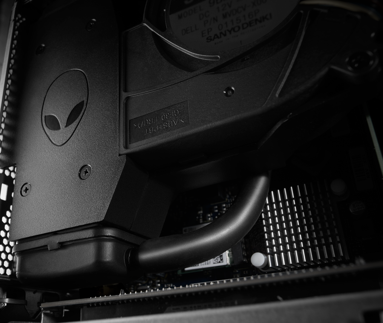 how to open alienware x51 desktop