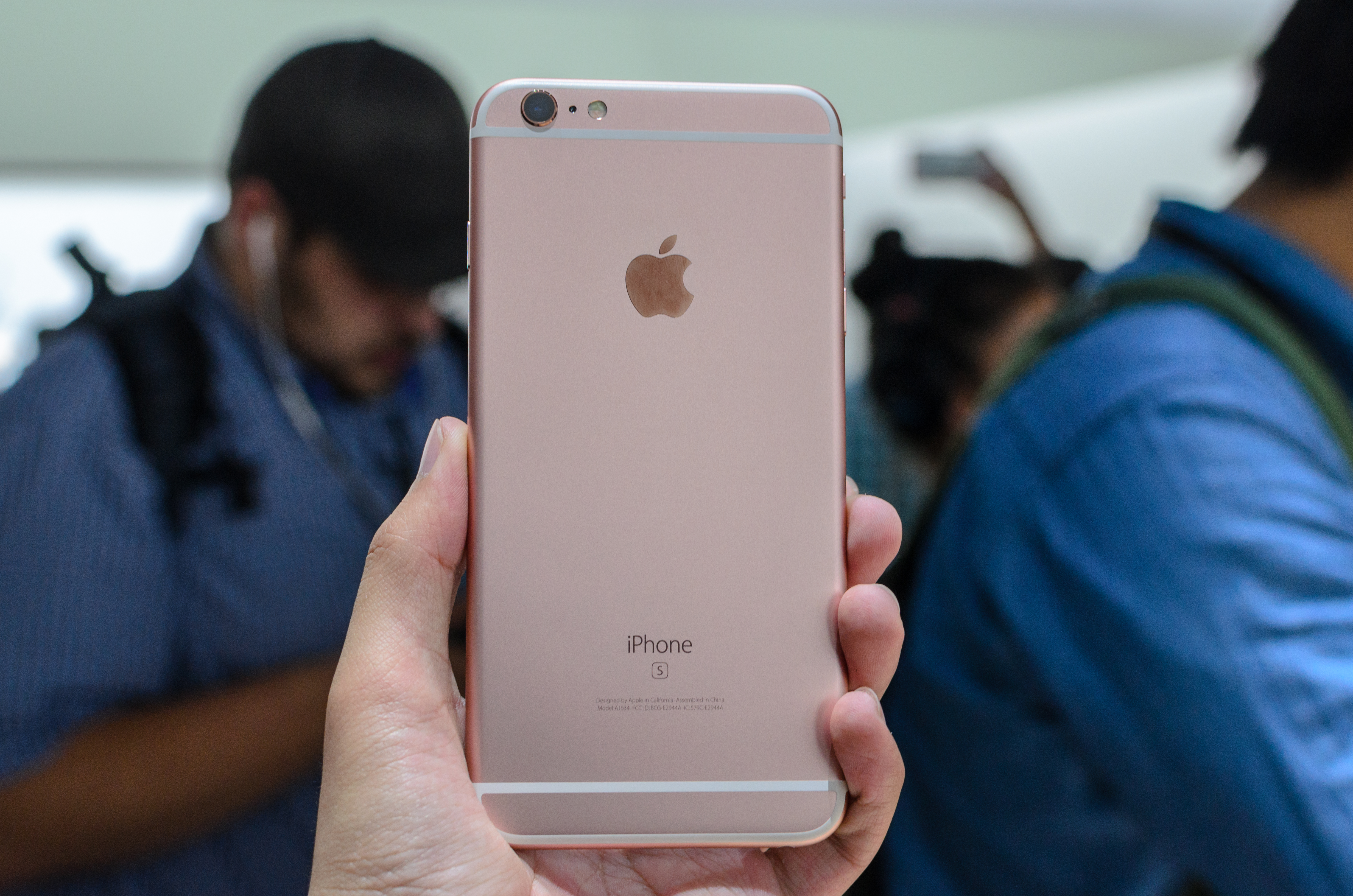 No more IMEI on the back of the iPhone 6s : iphone