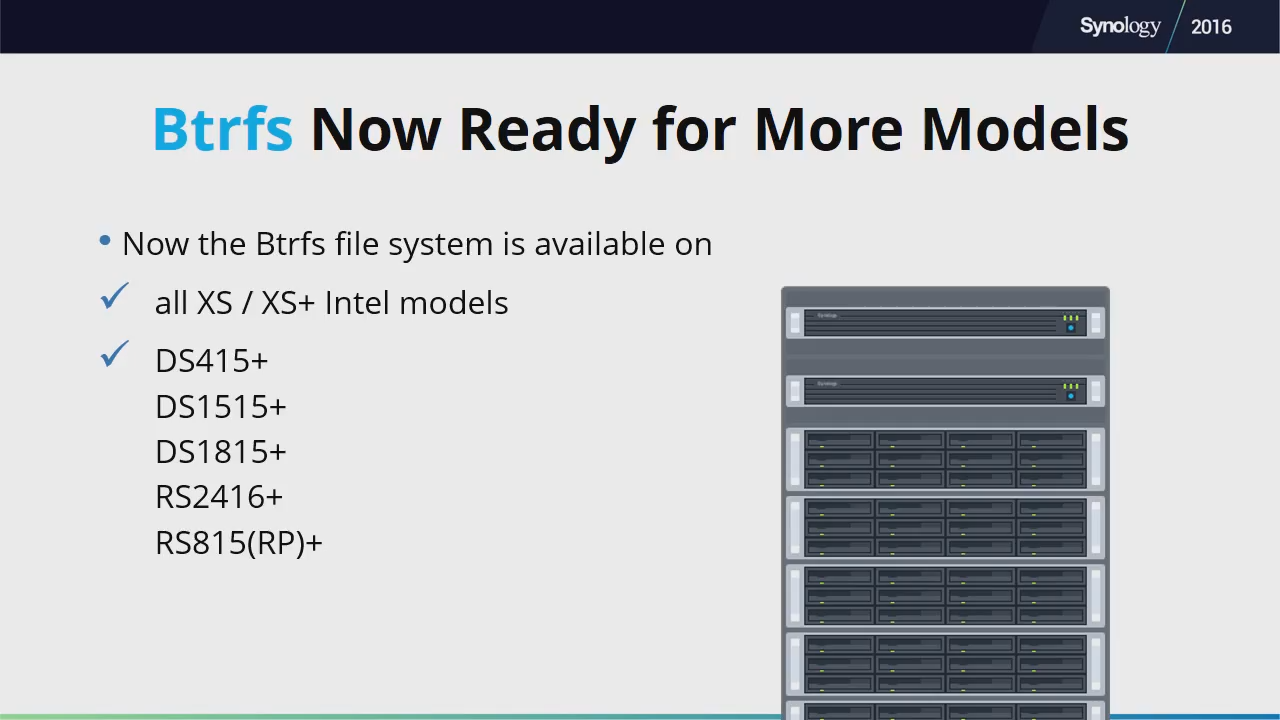 Synology Launches DSM 6 0 Long-Term Beta and New Hardware