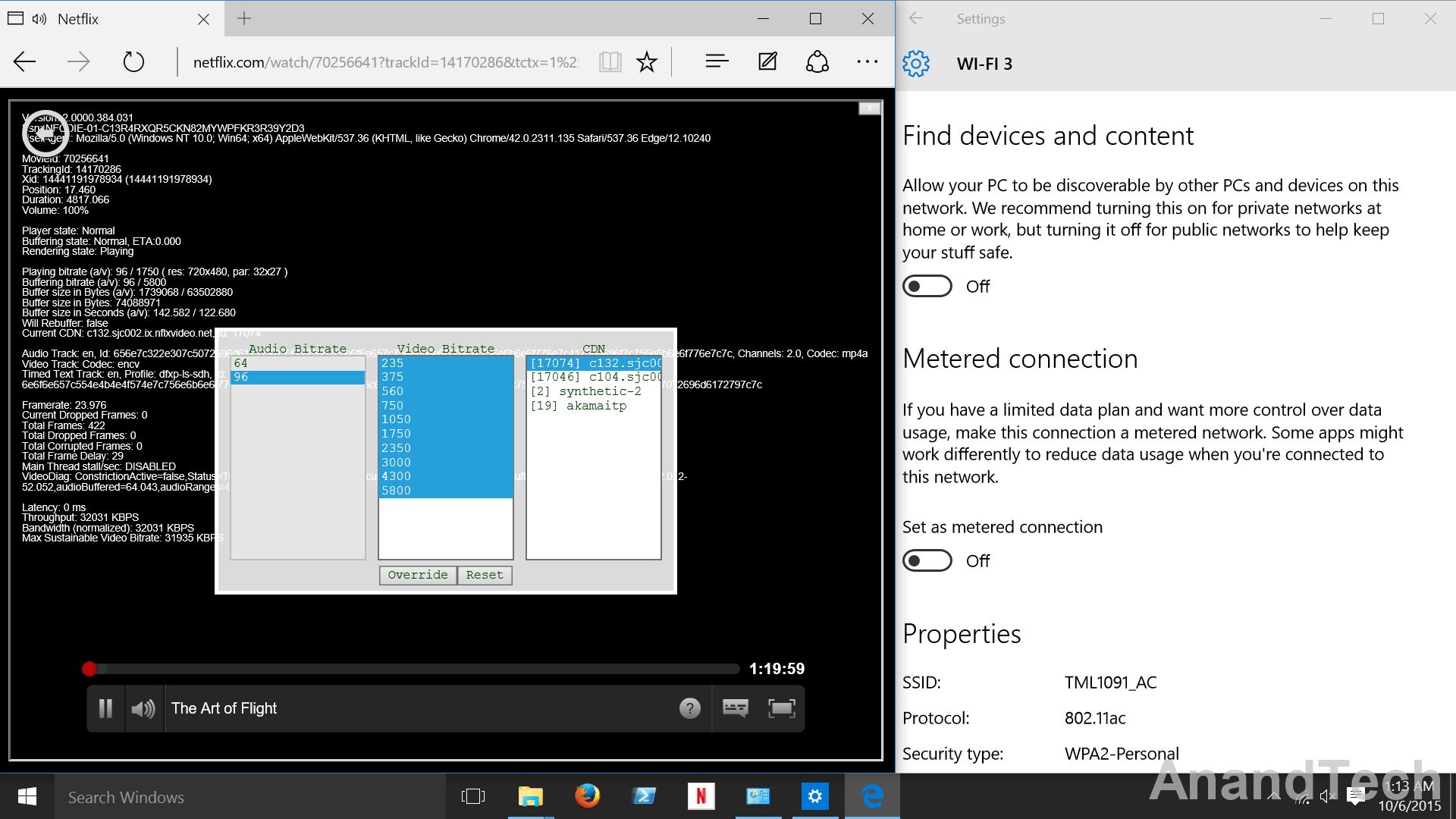 Sshot Connection Settings Windows 10