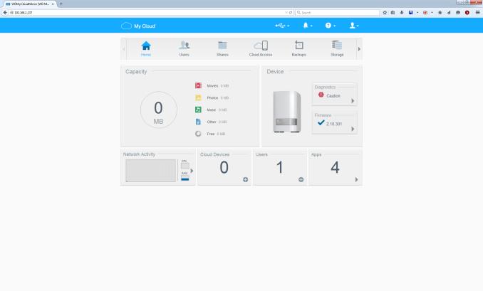 Setup and Usage Impressions - Western Digital My Cloud Mirror Gen 2