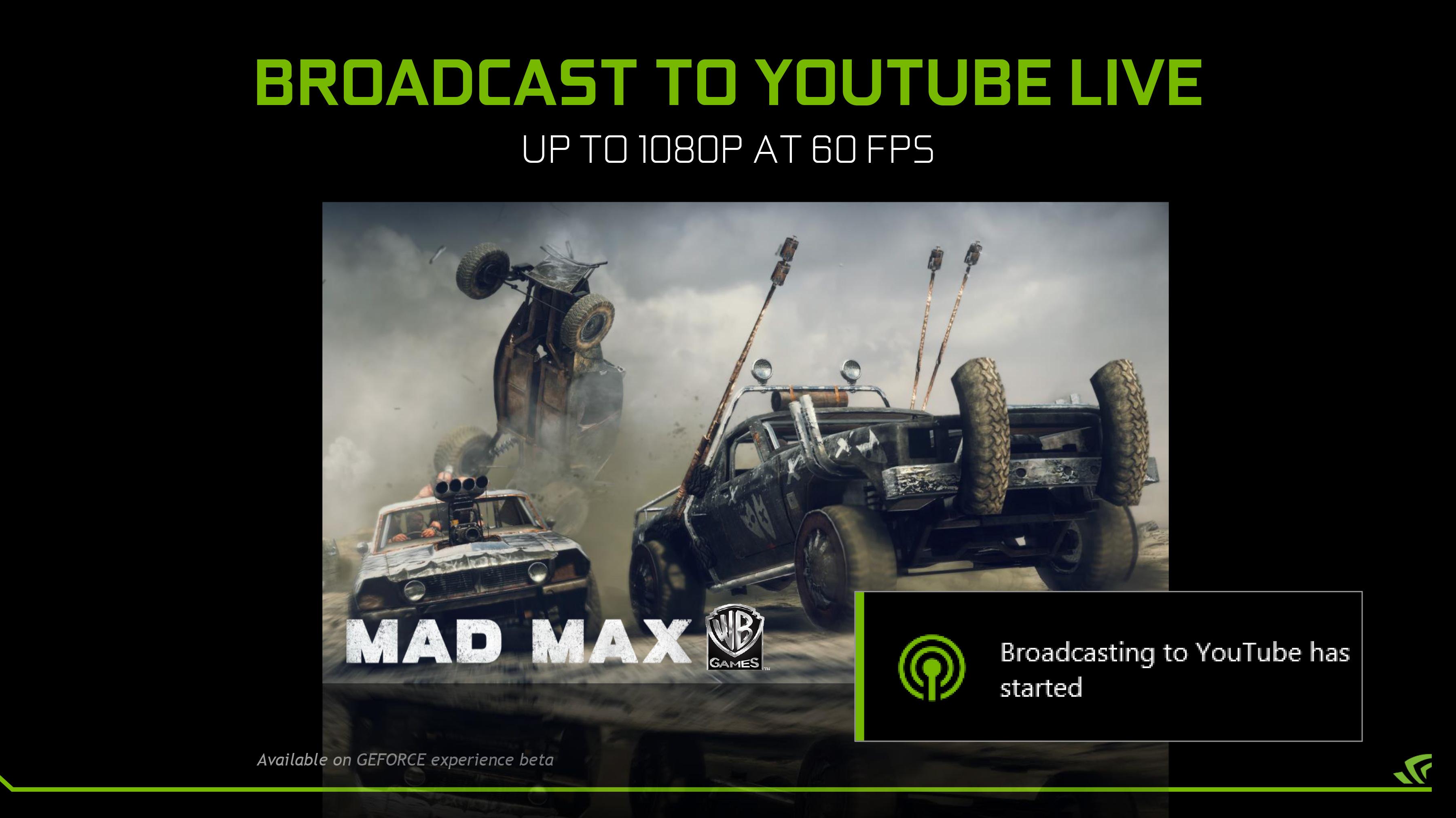 NVIDIA GeForce Experience Update: 4K GameStream & 1080p