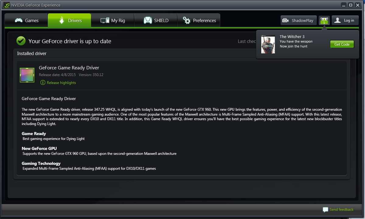 nvidia geforce experience update taking forever
