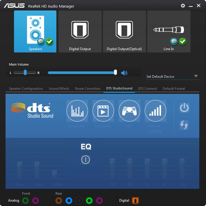 windows 10 realtek audio speakers not working