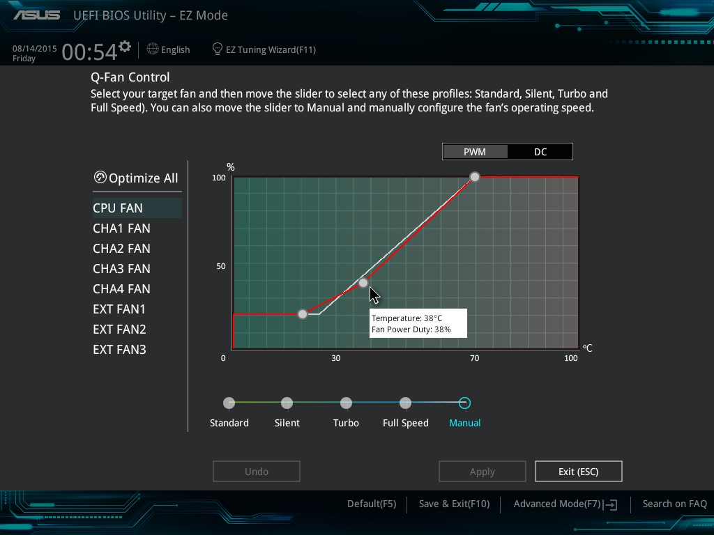 BIOS - The ASUS Z170-A Motherboard Review: The $165 Focal Point