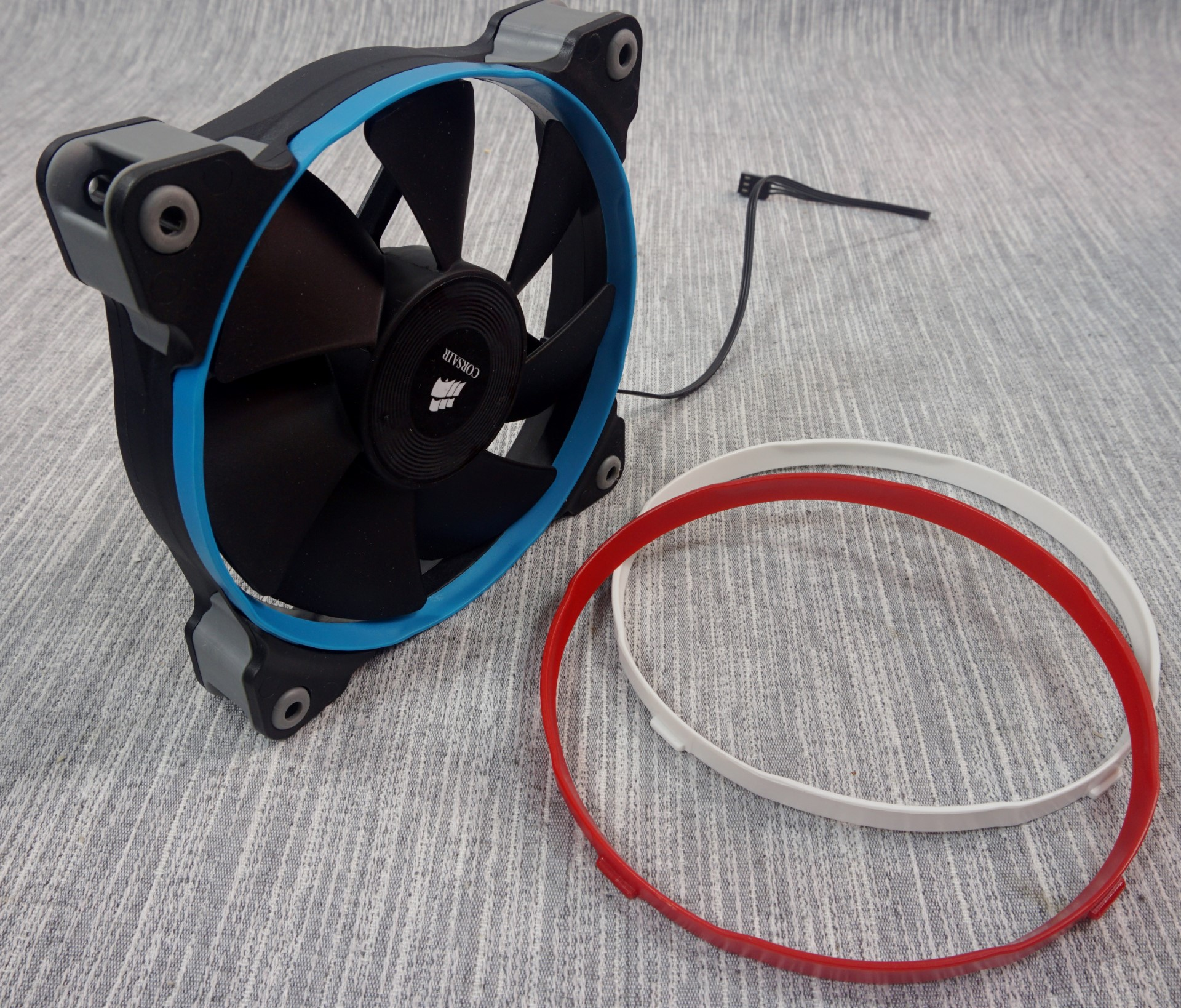 The Corsair SP (Static Pressure), AF (High Airflow) 120/140mm Fan Review