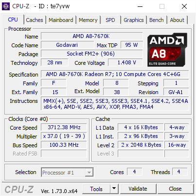 The AMD A8-7670K APU Review: Aiming for Rocket League