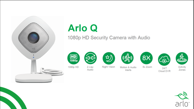 7e45711fe4a Netgear Expands Smart Home Lineup with Arlo Q IP Camera