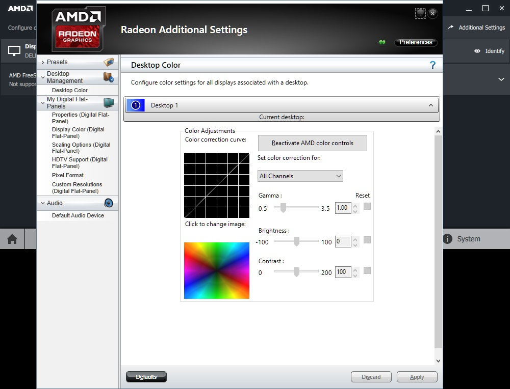 how to get additional radeon settings