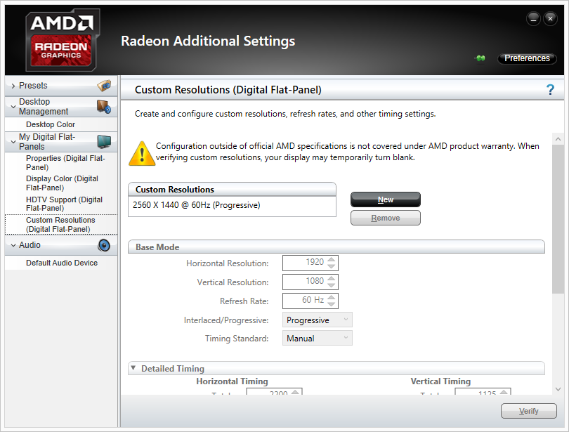Under The Hood for Displays: Custom Resolutions, Freesync