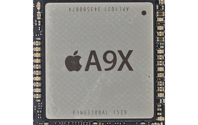 Podrobnosti o čipu Apple A9X. Skvělá propustnost pamětí a 12 GPU jader!