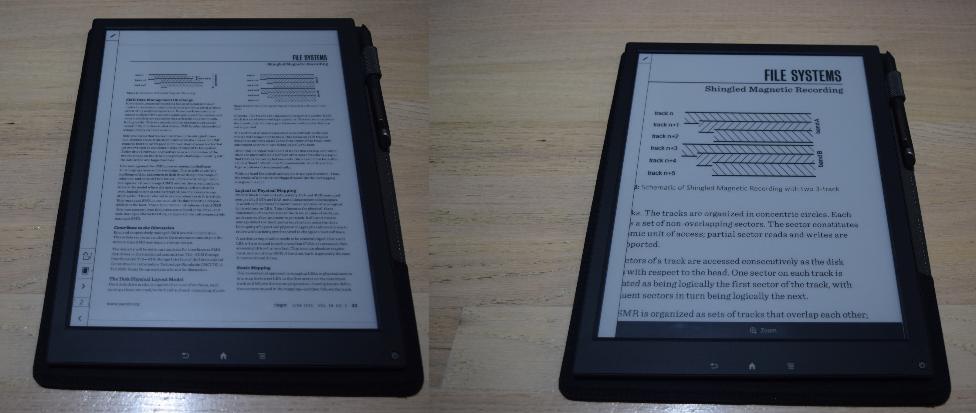 Software and UI Aspects - Sony Digital Paper System DPT-S1