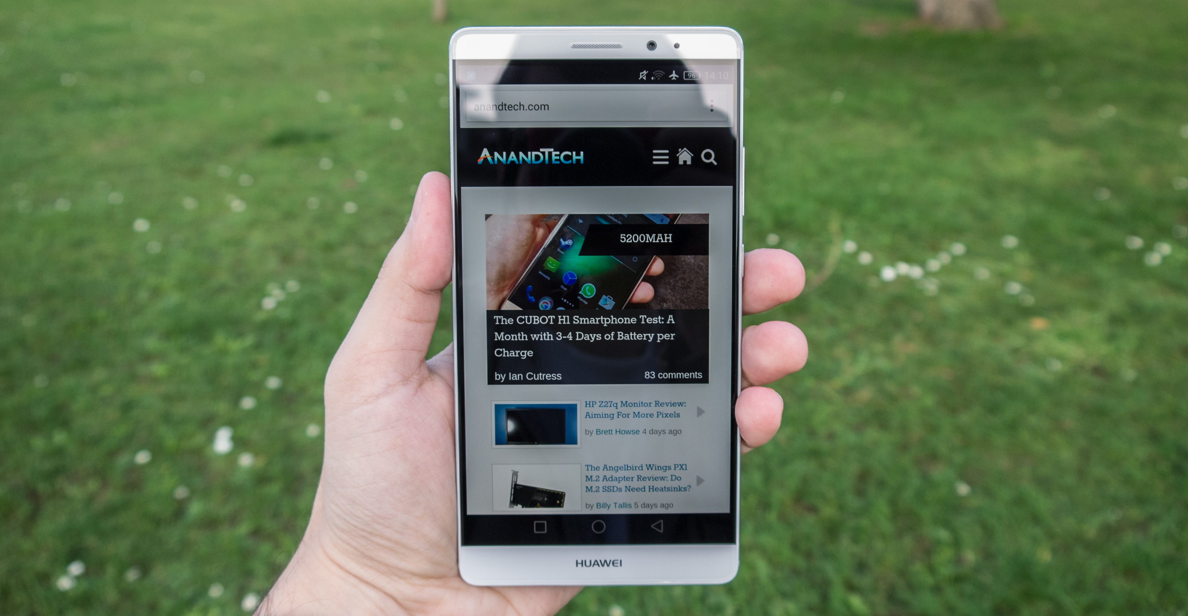 The Huawei Mate 8 Review