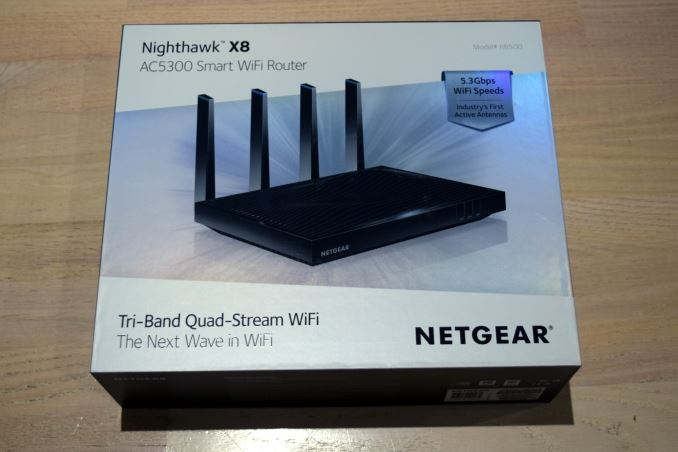Netgear Nighthawk X8 R8500 Ac5300 Router Brings Link