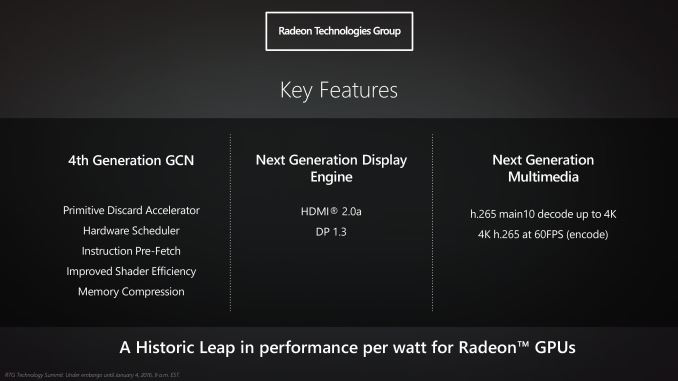 Discussion: Polaris, AMD\'s 4th Gen GCN Architecture - Graphics Cards