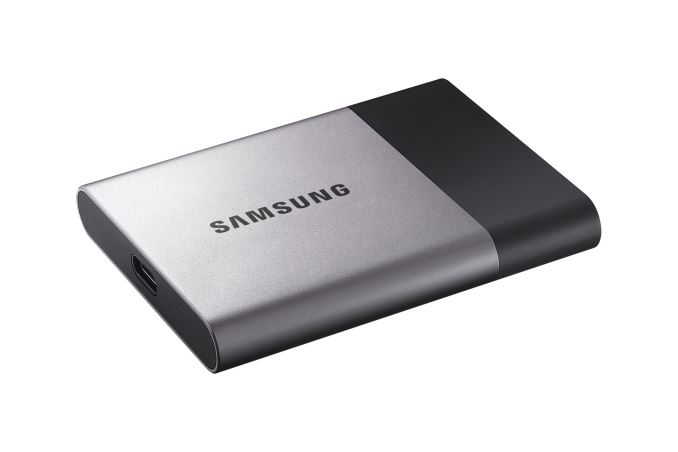 Samsung Introduces Portable SSD T3