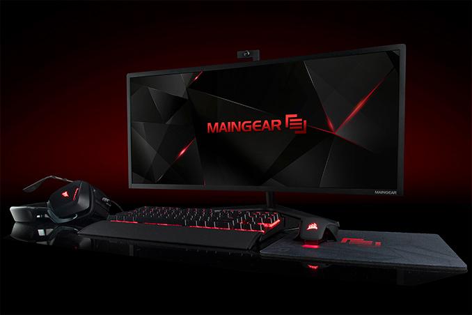 maingear alpha pc aio titan monitor gaming x99 geforce desktop gtx xeon ultra ces kitguru core curved pcs into debuts