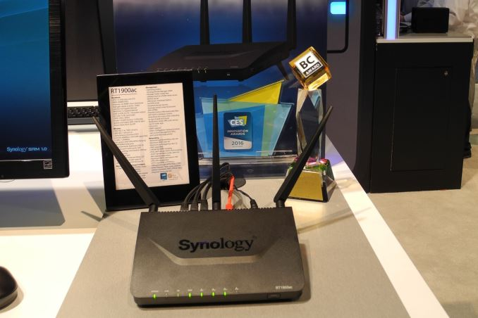 Synology Demonstrates RT1900ac 802 11ac Router at CES