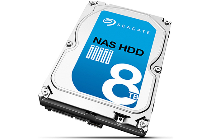 Seagate Introduces First 8 TB Hard Disk Drive for Consumer NAS Applications