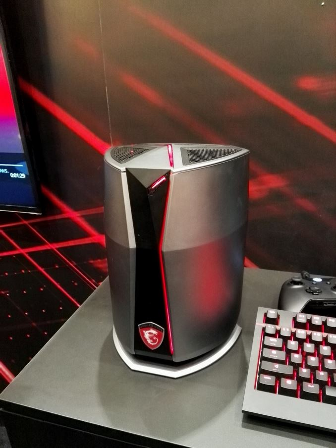 CES 2016: MSI's Vortex Gaming PC on Display and It Looks