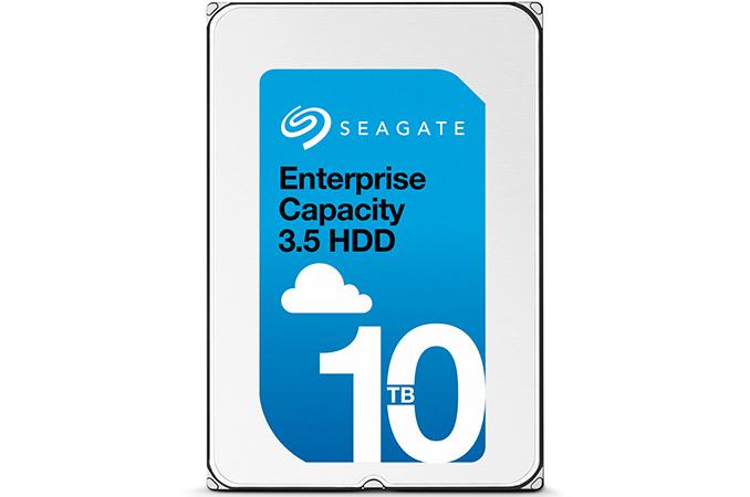 HD Seagate de 10 TB preenchido em hélio